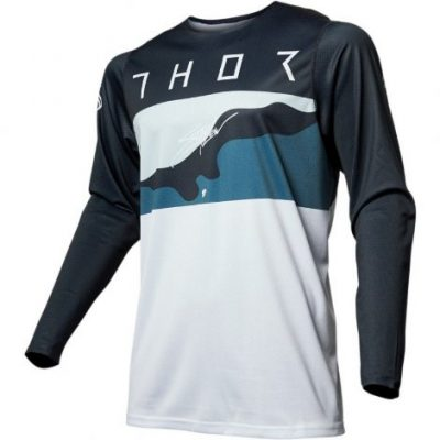 Thor prime pro apolli fighter blue/camo jersey μπλουζα