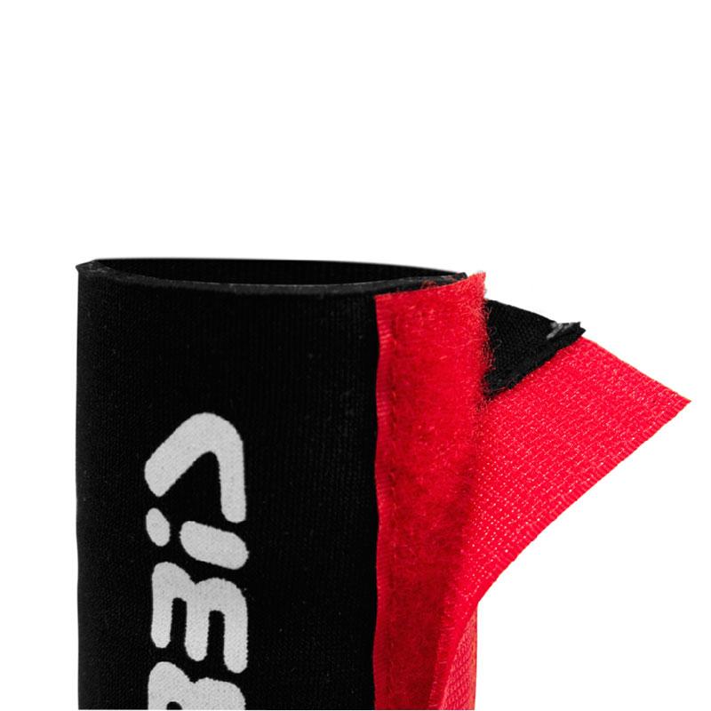 Προστασία πηρουνιού νεοπρέν Acerbis μαύρο-κόκκινο κοντή έκδοση