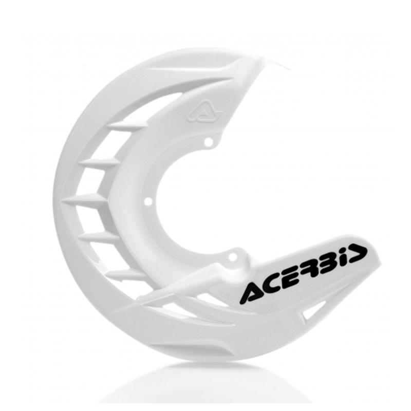 Κάλυμμα εμπρός δίσκου Acerbis X-Brake ΛΕΥΚΟ