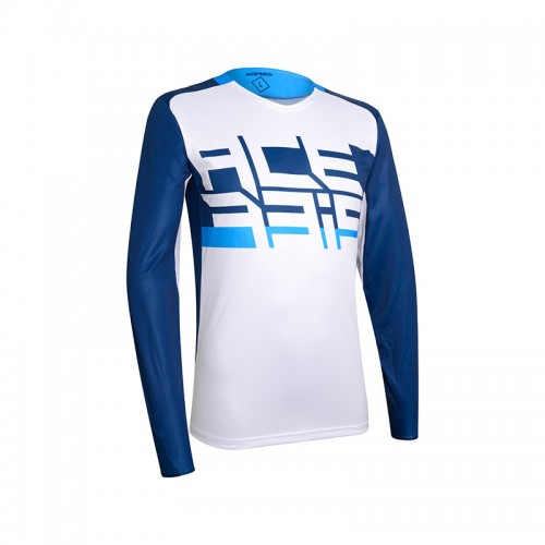 Μπλούζα Acerbis MX Sasansi 23300.245_ μπλε-άσπρο