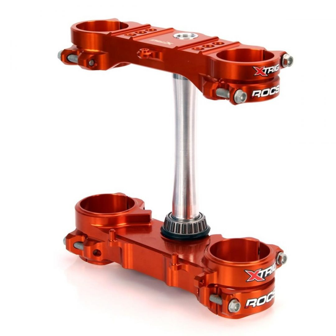 ΤΙΜΟΝΟΠΛΑΚΕΣ XTRIG TRIPLE CLAMP KIT ROCS TECH Offest 20 mm, KTM EXC/EXC-F 14-16