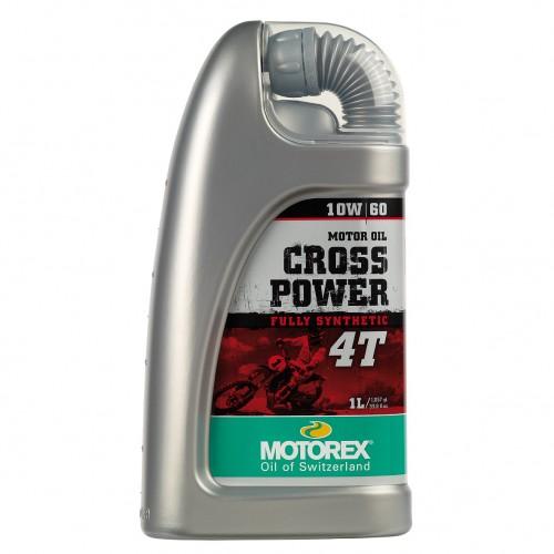 Λάδι 4T Cross Power 10W/50 100% συνθετικό, 1 Lt Motorex