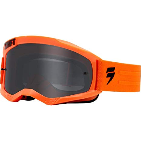 Shift WHIT3 Non Mirrored Motocross Goggles ΜΑΣΚΑ ΠΟΡΤΟΚΑΛΙ