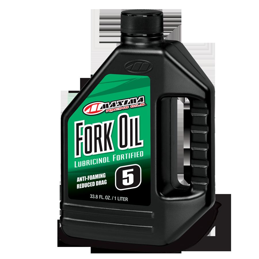 Maxima Fork Oil Standard Hydraulic 5wt