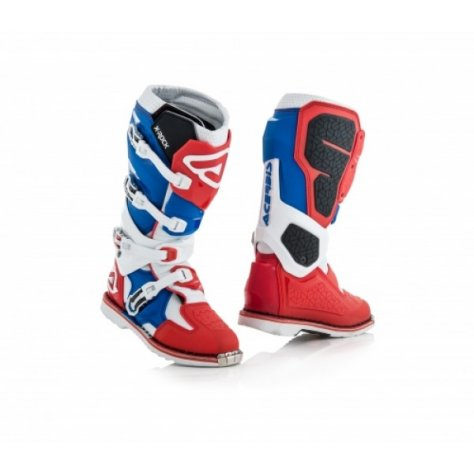 ACERBIS BOOTS X-ROCK - RED/BLUE