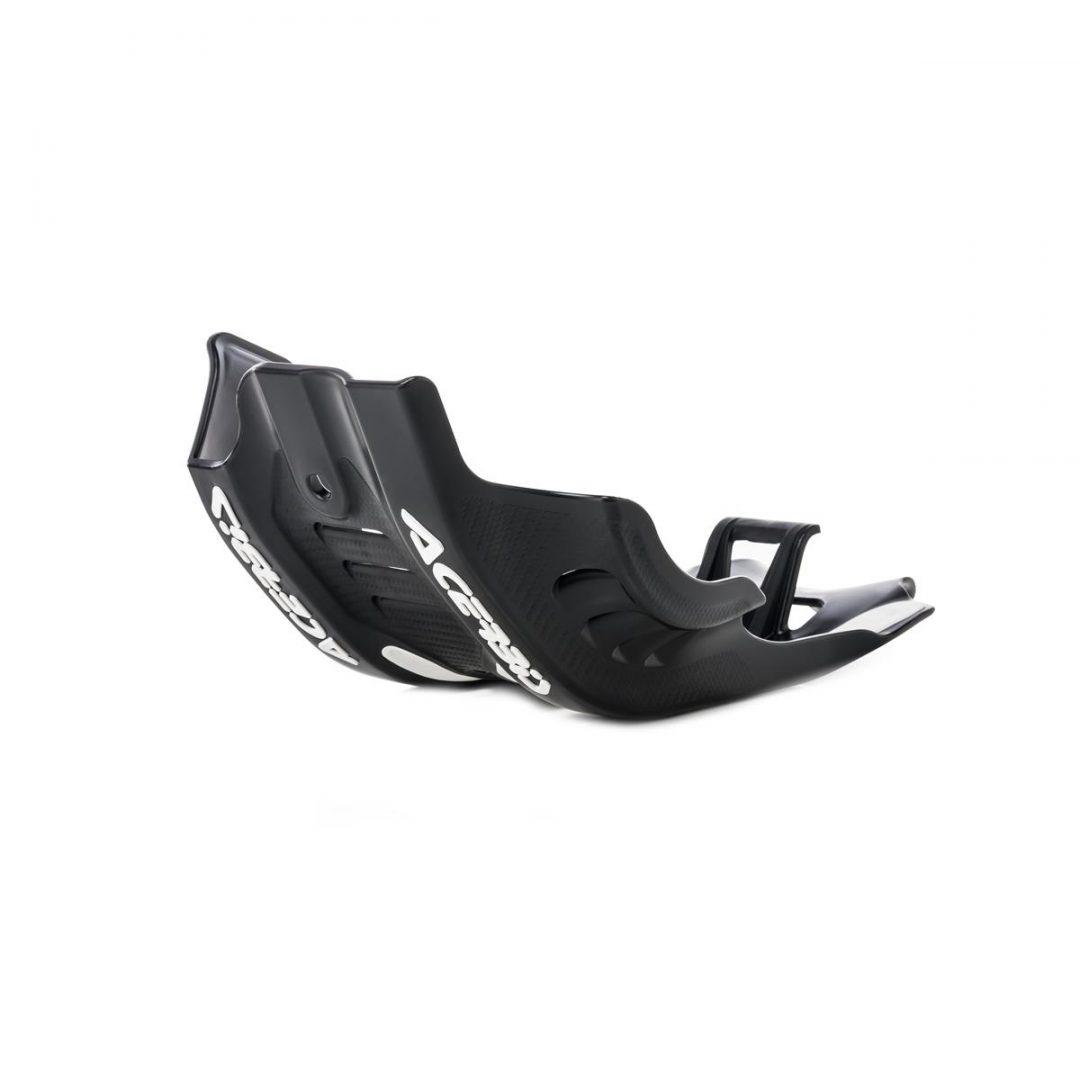 Acerbis ΠΡΟΣΤΑΤΕΥΤΙΚΗ ΠΟΔΙΑ ΠΛΑΣΤΙΚΗ SKID PLATE KTM SX-F 450 19-20, Black/White ΛΕΥΚΟ ΜΑΥΡΟ