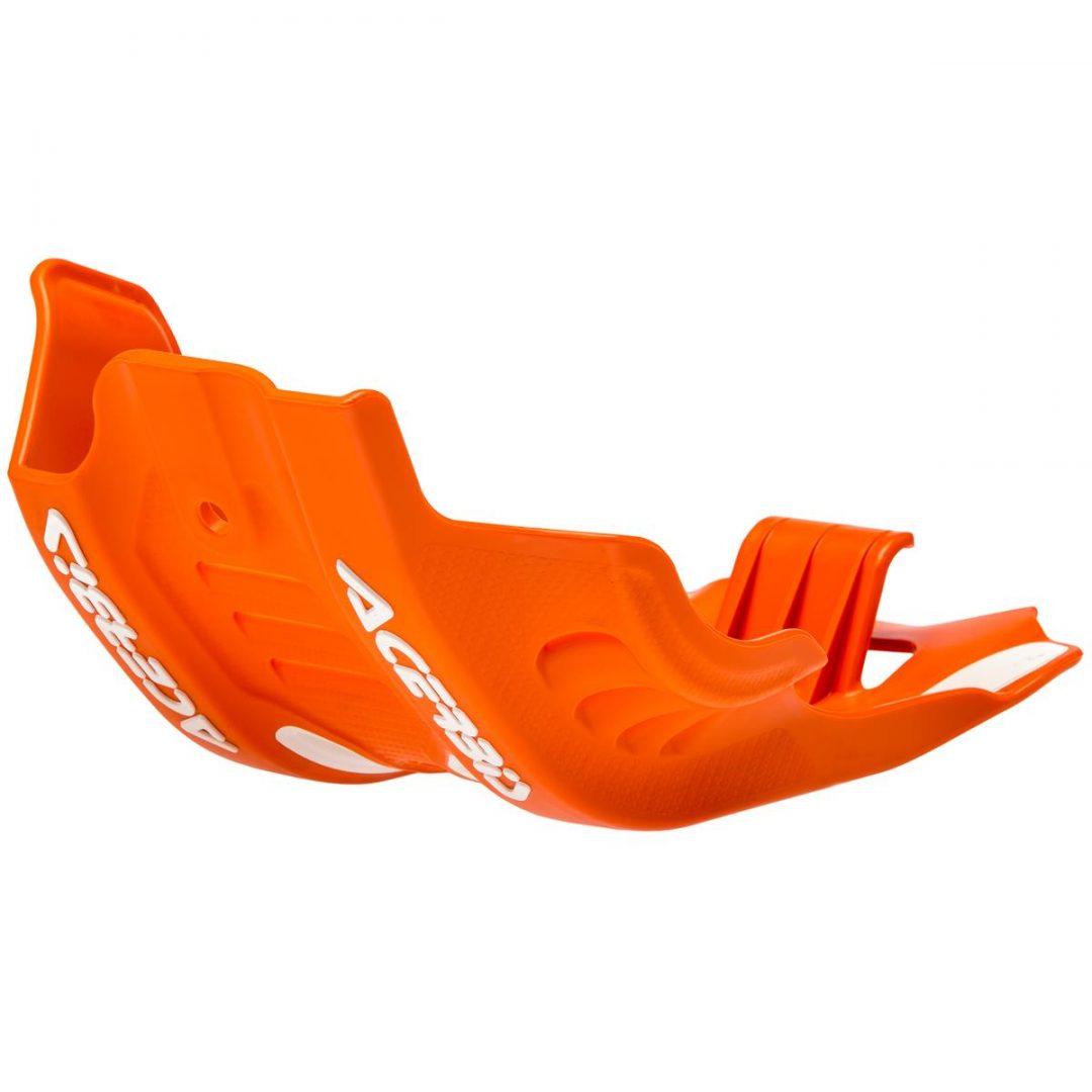 Acerbis ΠΡΟΣΤΑΤΕΥΤΙΚΗ ΠΟΔΙΑ ΠΛΑΣΤΙΚΗ SKID PLATE KTM EXC-F 450/500 '20, Orange/White ΠΟΡΤΟΚΑΛΟ ΛΕΥΚΟ