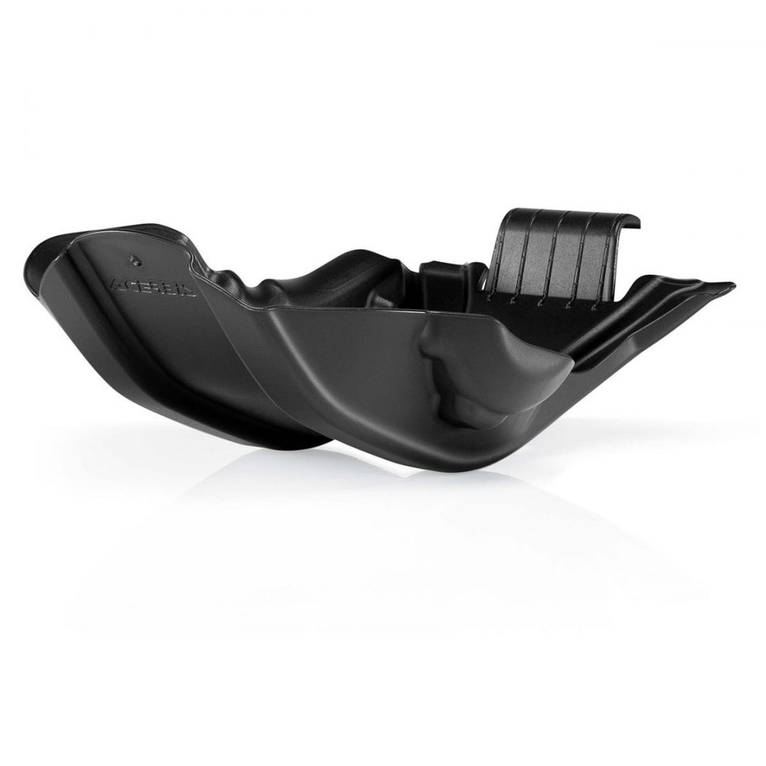 Acerbis ΠΡΟΣΤΑΤΕΥΤΙΚΗ ΠΟΔΙΑ ΠΛΑΣΤΙΚΗ SKID PLATE KTM EXC 450/500 12-16, SXF 450 13-15, Black ΜΑΥΡΗ