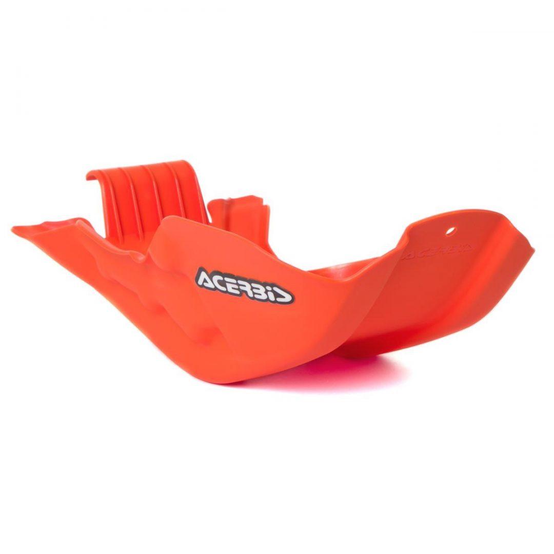 Acerbis ΠΡΟΣΤΑΤΕΥΤΙΚΗ ΠΟΔΙΑ ΠΛΑΣΤΙΚΗ SKID PLATE KTM EXC 450/500 12-16, SX-F 450 13-15, Orange ΠΟΡΤΟΚΑΛΙ