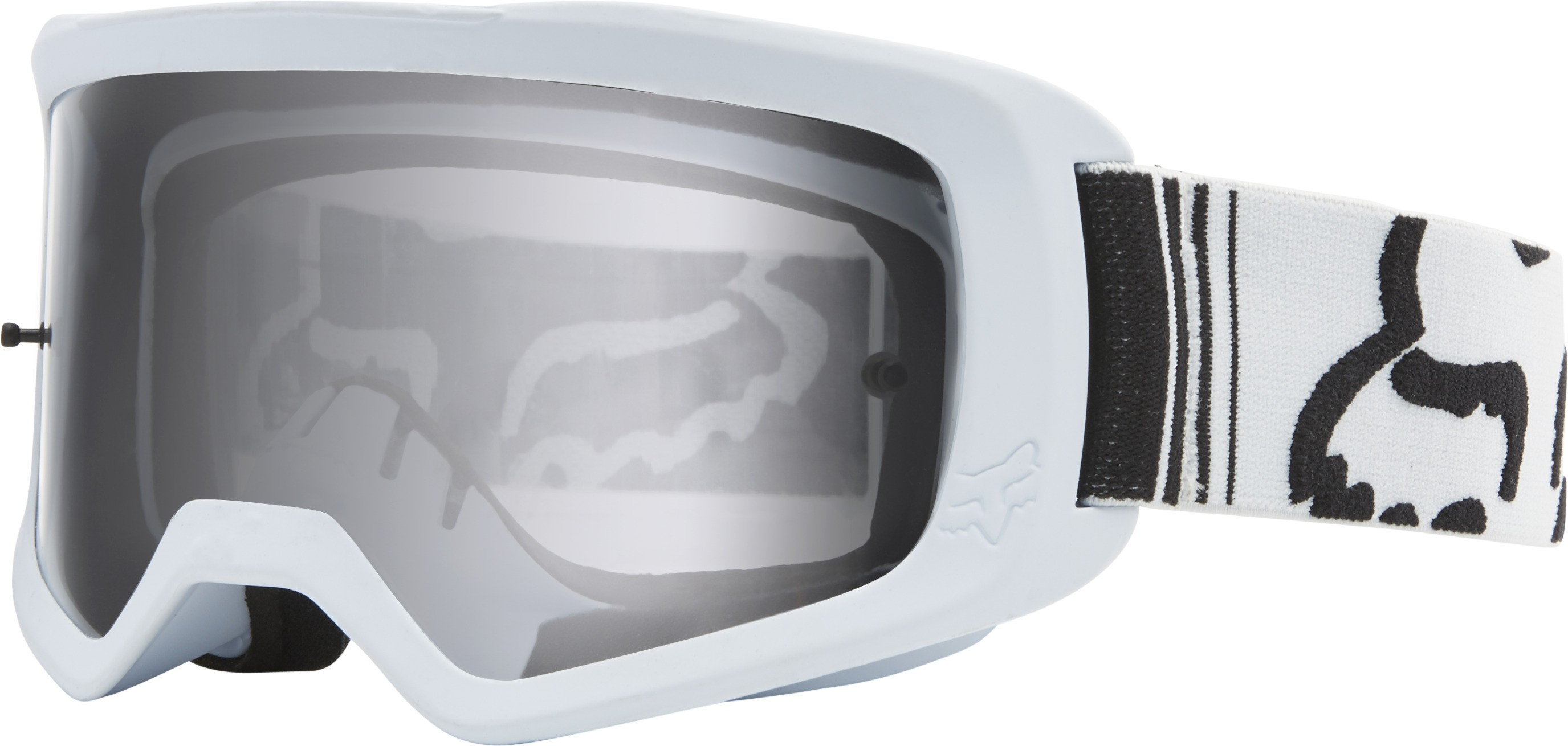 FOX Main II Race Motocross Goggles ΜΑΣΚΑ ΛΕΥΚΗ