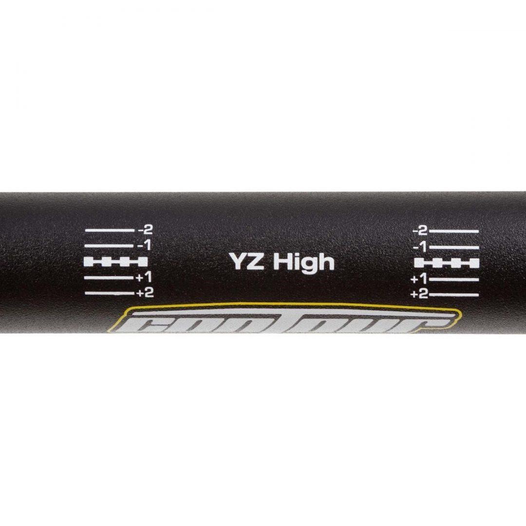 ΤΙΜΟΝΙ PROTAPER HANDLEBAR CONTOUR YZ high, Black, 28.6 mm ΜΑΥΡΟ