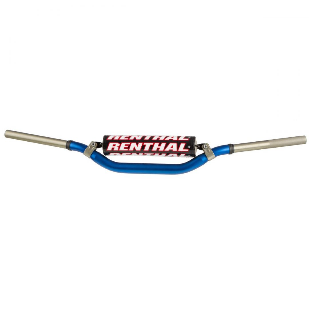 ΤΙΜΟΝΙ ΜΠΛΕ RENTHAL HANDLEBAR TWIN WALL 997 28,6 mm, Blue, Honda/Kawasaki