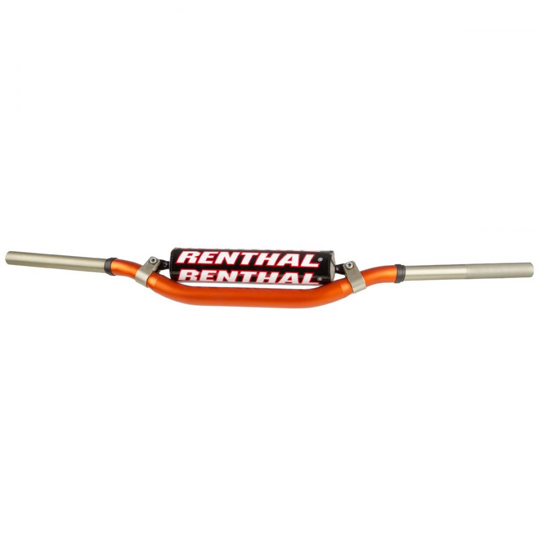 ΤΙΜΟΝΙ ΠΟΡΤΟΚΑΛΙ RENTHAL HANDLEBAR TWIN WALL 999 Orange, McGrath