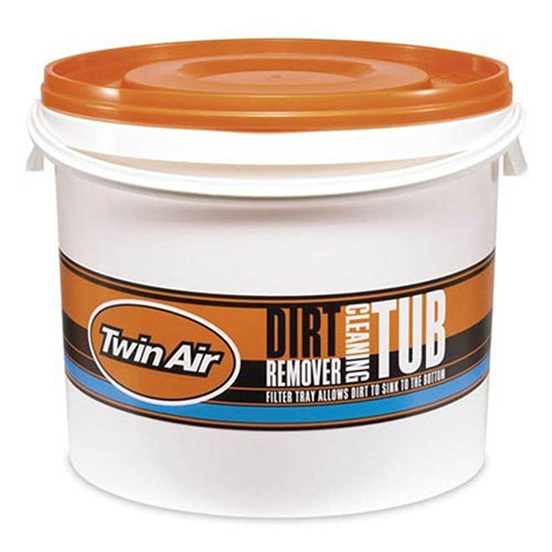 TWIN AIR CLEANING TUB CAGE - BLACK / LARGE
